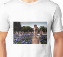 Cross in Bluebonnets Unisex T-Shirt