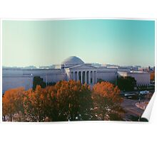 View of Washington, D.C. - Tinted Poster