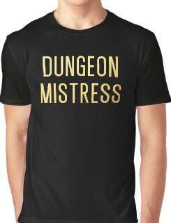 Dungeon Mistress (Gold Version) Graphic T-Shirt