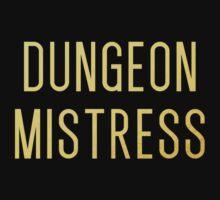 Dungeon Mistress (Gold Version) Kids Tee