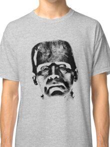 Frankenstein's Monster. Spooky Halloween Digital Engraving Image Classic T-Shirt