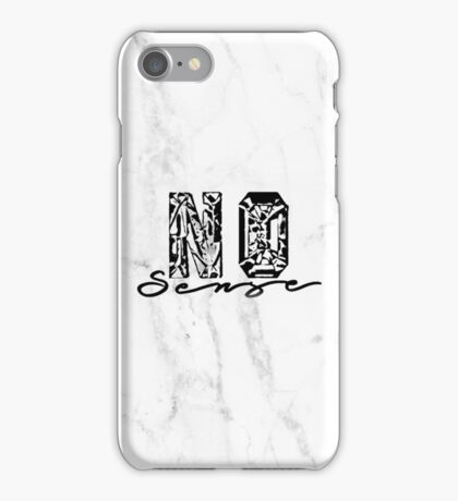 No Sense - Justin Bieber iPhone Case/Skin