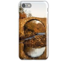 Packhorse Bridge Over The River Minnoch iPhone Case/Skin