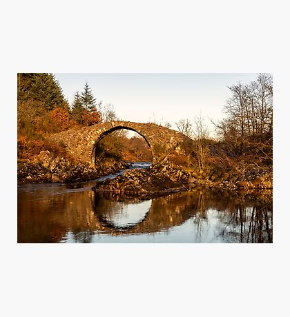 Packhorse Bridge Over The River Minnoch Photographic Print