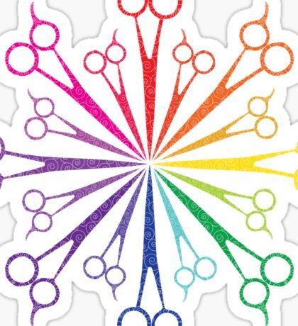 Scissors! Sticker