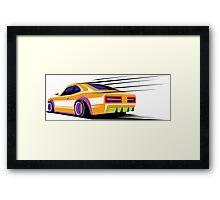 Classic sport car  Framed Print