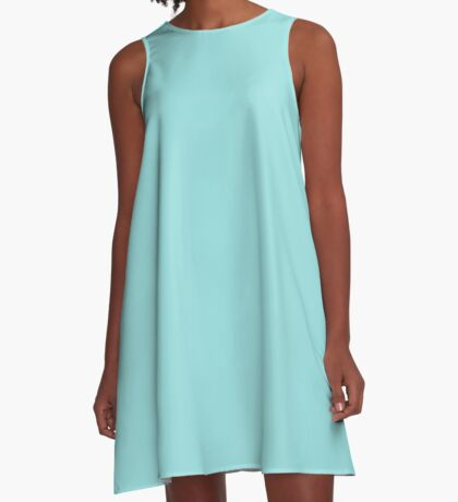 Limpet Shell   Pantone Fashion Color Spring : Summer 2016   Solid Color A-Line Dress