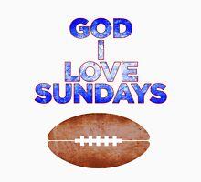 GOD I LOVE SUNDAYS Men's Baseball ¾ T-Shirt