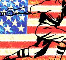 America's Pastime Sticker