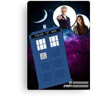 Twelve & Companion Greeting card Canvas Print