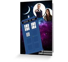 Twelve & Companion Greeting card Greeting Card