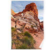 Mojave Desert Sandstone Wash - Valley Of Fire - Nevada Poster