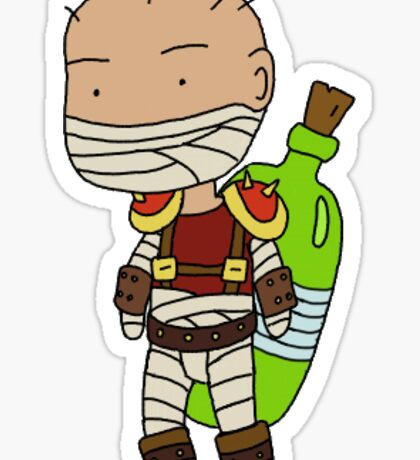 Singed Sticker