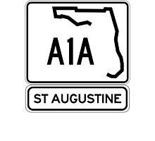 A1A - St Augustine, Florida Photographic Print