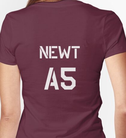 Newt - A5 Womens Fitted T-Shirt