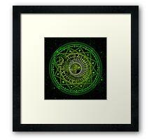 Yukito Tsukishiro Magic Circle Framed Print