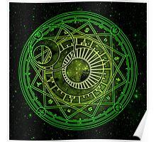 Yukito Tsukishiro Magic Circle Poster