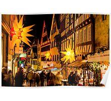 Tübingen at Christmas 3 Poster
