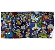 old cartoon network Poster