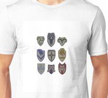 Skyrim Hold Logos Unisex T-Shirt