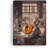 Halloween monks Canvas Print