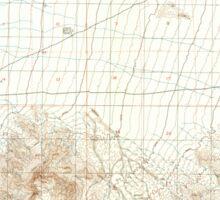 USGS TOPO Map California CA Silurian Hills 101108 1983 24000 geo Sticker