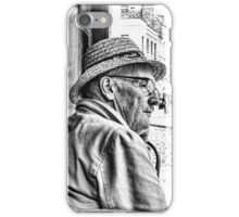 Candid-Man iPhone Case/Skin