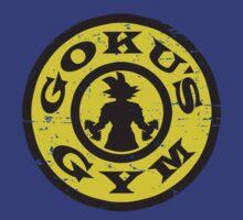 Goku's Gym by tyroneredbubble