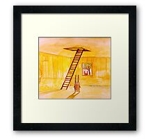 Magic Stair (illustration from the book) Framed Print