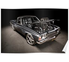 Craig Craft's Holden HJ Kingswood Ute Poster