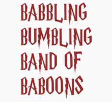 Babbling Bumbling Band of Baboons by Allannah