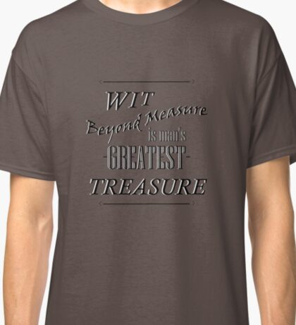 Wit Beyond Measure Classic T-Shirt
