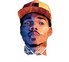 Chance The Rapper Vector by RocoesWetsuit