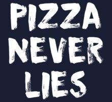 Pizza Never Lies Kids Tee