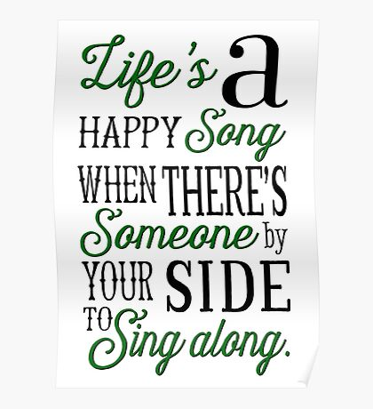 Life's a Happy Song Poster