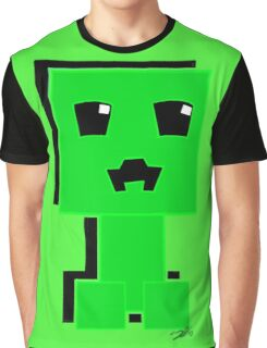 Cute Creeper Graphic T-Shirt