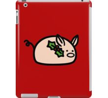 Holly Pig iPad Case/Skin