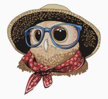 Farm Owl One Piece - Short Sleeve