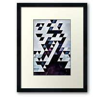 MODYRN LYKQUYR Framed Print
