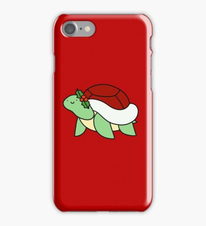 Holly Turtle iPhone Case/Skin