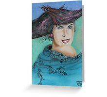 """Carole Jeane McIntyre 1967"" Greeting Card"