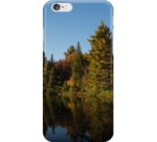 Fall Forest Lake - Reflection Tranquility iPhone Case/Skin