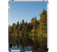 Fall Forest Lake - Reflection Tranquility iPad Case/Skin