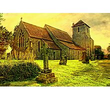 St Mary The Virgin Stowting Photographic Print
