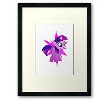 Special Destiny - Twilight Sparkle Alicorn Filly Framed Print
