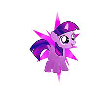 Special Destiny - Twilight Sparkle Alicorn Filly Photographic Print