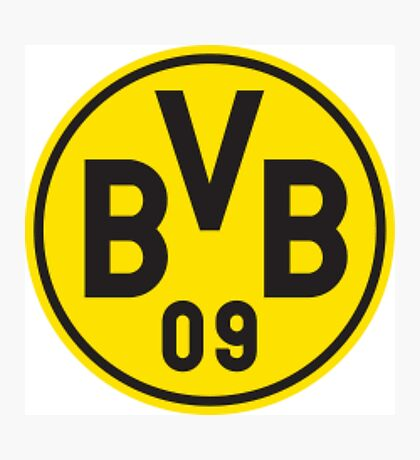 Borussia Dortmund Logo Photographic Print
