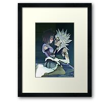 With you alone Framed Print