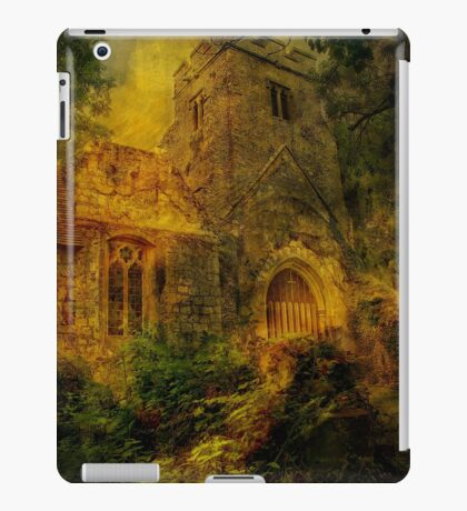 Eastwell Ruins iPad Case/Skin