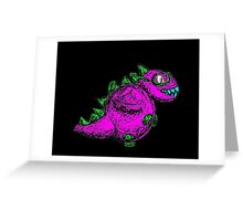 colourful dragon  Greeting Card